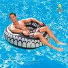 浮き輪フロートタイヤ型ビッグフロート大きな浮き輪直径/1.19m内径/約47cmビーチ海プールインスタ映え夏レジャー目立つ対象年齢12歳以上Bestwayあす楽対応【送料無料】_85367