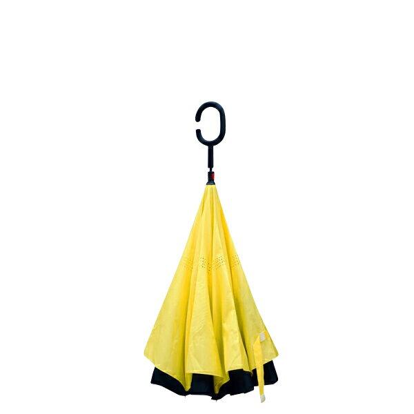 傘 逆さ傘 晴雨兼用 UVカット 遮光 自立 おしゃれ かわいい 8カラー レディース メンズ 長傘 日傘 さかさま傘 逆さま傘 逆向き 逆さまの傘 折れない 黒 空絵 青 オレンジ ピンク 黄色 紫 赤 プレゼント @a866