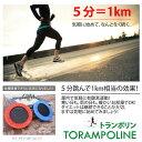トランポリン/組み立て簡単 有酸素運動 ダイエットにエクササイズに 自宅でお手軽/雨でも安心 足腰の強化/80cm /赤/青@9685