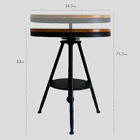 テーブルセットテーブルチェアセットアイアンウッド3点セット北欧レトロモダンシンプル家具鉄製木製椅子いすイスチェアー店舗カフェオフィスダイニングテーブルダイニングチェア_87187