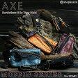 二つ折財布 メンズ マフィンシリーズの羊革を使用したシープスキンウォレット AXE アックス【人気ブランドの本革折り財布】 【No.137681】 【春財布】【送料無料】【smtb-k】【ホワイトデー】