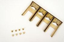 コインキャッチャー<アンティーク>(1個)約10cm×5cmコインケース用金具レザークラフト金具レザークラフトクラフト財布革