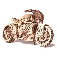 WoodTrickウッドトリックモーターバイクDMS3Dウッドパズル