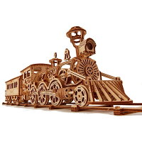 WoodTrickウッドトリック機関車R173Dウッドパズル