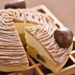 実店舗で30年以上も人気NO.1の看板ケーキ銀座ル・ブランの「モンブラン」5寸サイズ【送料無料】...