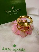SALE!KATESPADEケイト・スペードお花モチーフリングアメリカの直営店より直輸入【アウトレット】【インポート】