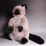 ぬいぐるみ猫【ベルBell】Cuddly(カドリー)こだわりの日本製ぬいぐるみ(猫のぬいぐるみ猫グッズ子猫猫雑貨誕生日プレゼント)