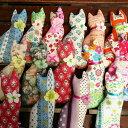 【猫オモチャ またたび入り】またたびプティミネット 柄おまかせ/またたび入り猫ちゃんのおもちゃ/猫のおもちゃ ねこ ネコ 魚 ネコ雑貨 プレゼント ギフト お返し ルシアン