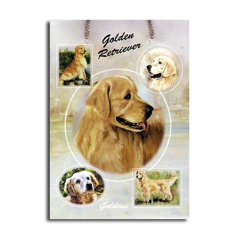 ギフトバッグ 小 ゴールデンレトリバー 世界的に有名な動物画家「ルス・メイステッド」さんデザイン(紙袋 犬グッズ コレクション USA デザイナーブランド おしゃれ かわいい プレゼント 贈り物 包装 バッグ ギフト バック 犬のバック 楽天)