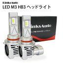 LED M3 HB3 ヘッドライ...