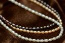 ベビーパール ネックレス てりてり淡水真珠 ペンダントチェーンとしても人気♪【メール便可】