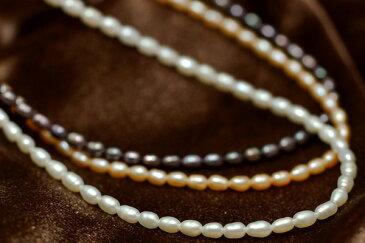 てりてり淡水真珠ベビーパールネックレス ペンダントチェーンとしても人気♪【メール便可】