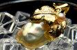 【極てり版!】メタリックな輝きのバロック真珠 色彩の豊かさが魅力の 淡水真珠ペンダントトップ QUFNPU