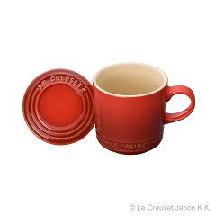 ル・クルーゼ ストーンウェア/食器マグカップ(フタ付き)