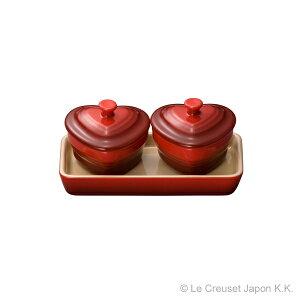 ミニチュア・ラムカン・ダムール・セット[ル・クルーゼ]【楽ギフ_包装】洋食器 小皿 容器 陶器