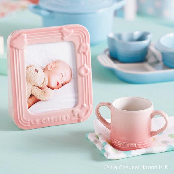 パステルカラーにズキュン♪「ル・クルーゼ ベビー」の食器がかわいくて使い勝手抜群の画像