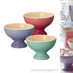 ル・クルーゼ ストーンウェア/食器アイスクリーム・カップ French Pastel