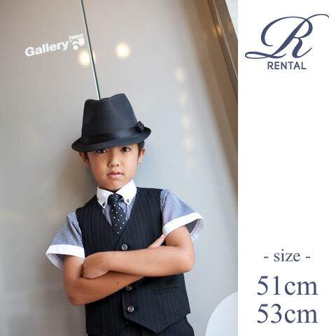 【レンタル/hat-001】子供用 中折れハット fy16REN07
