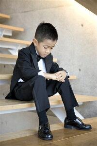 【レンタル/サイズ展開110〜130サイズ/タキシード】かっこよくて着易い!正統派テールコート(タキシード)