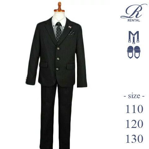 【レンタル/サイズ 110 120 130/b-97】]MICHIKO LONDON ギンガムチェックシャツ/ロングパンツスーツ(水玉ネクタイ) ギンガムチェックシャツ/ロングパンツスーツ(水玉ネクタイ)入学式 fy16REN07