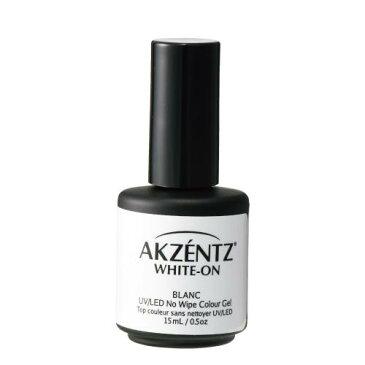 アクセンツ AKZENTZ ジェルネイルシステム「アクセンツ」 UV/LED ホワイトオン 15ml C [9345002]