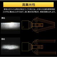 CREE社LEDヘッドライトH4Hi/Lo・H7・H8・H11・H16・HB3・HB4・9012・HIR2