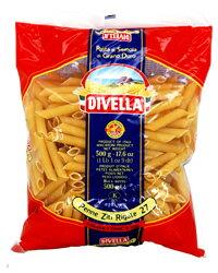 【包装不可】 ディヴェッラ DIVELLA No.27 ペンネリガーテ(ペンネリガーティ)1ケース (500g×24)画像