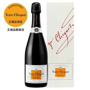 ヴーヴ クリコ ポンサルダン(ヴーヴ・クリコ)(ヴーヴ クリコ)(ブーブ クリコ) ホワイトラベル ドゥミセック 箱付 750ml 正規 Veuve ブーブ シャンパン シャンパーニュ フランス