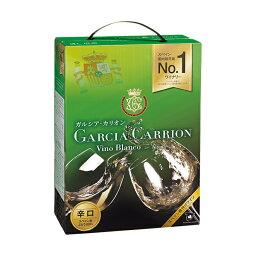 【包装不可】 ガルシア カリオン アイレン BIB(バッグインボックス) 3000ml 白ワイン 箱ワイン スペイン