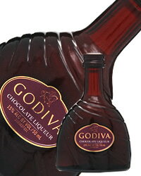 【あす楽】【包装不可】 ゴディバ チョコレート クリーム リキュール ミニチュアボトル 15度 50ml 正規