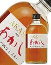 【あす楽】 江井ヶ嶋酒造 地ウイスキー あかしレッド 40度 500ml
