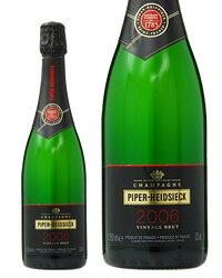 パイパー エドシック ブリュット ヴィンテージ 2008 750ml 正規 シャンパン シャンパーニュ フランス