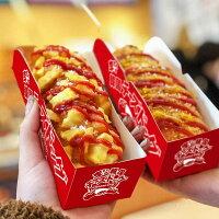チーズドッグ専用トレイ付きハットグ