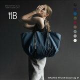 【クーポンで¥6,800★マラソン限定】BREAKFAST & Co NYC WASHED NYLON beach bag M トートバッグ M