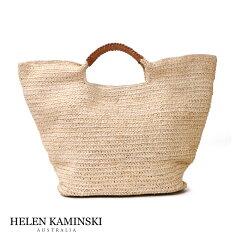 【正規スリランカ製】ヘレンカミンスキー HELEN KAMINSKI PINAMAR M ラフィアトートバッグ