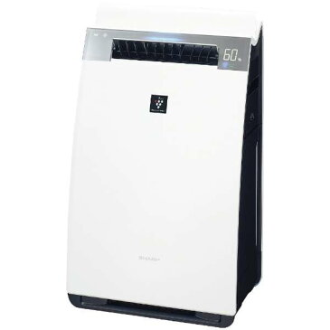 KI-JX75-W シャープ 加湿空気清浄機  プラズマクラスター25000 プレフィルター自動掃除機能搭載のハイグレードモデル