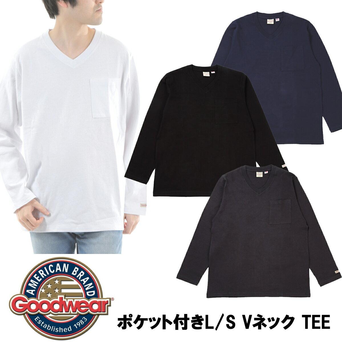 トップス, Tシャツ・カットソー GOODWEARLS V TEE 2W7-95014