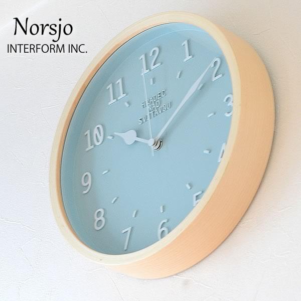 電波時計 壁掛け時計 | 【 インターフォルム 】 [ アインマール ] ■ | Einmal 掛け時計 壁時計