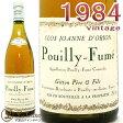 ジトン・ペール・エ・フィスプイィ・フュメ・ジョアンヌ・ドリオン[1984]白ワイン/辛口[750ml]Gitton Pere & FilsPouilly Fume Clos Joanne d'Orion 1984