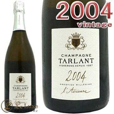 タルランプレスティージュ ラエリエン ブリュット ナチューレ 2004正規品 シャンパン 白 辛口 750mlTarlant Prestige L'Aerienne Brut Nature 2004