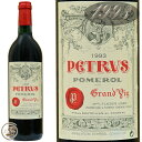 1993 シャトー ペトリュス 赤ワイン 辛口 フルボディ 750ml