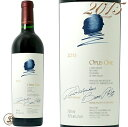 2015 オーパス ワン カリフォルニア 赤ワイン 辛口 フルボディ 750ml Opus One