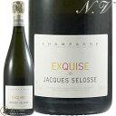 NV エクスキューズ ジャック セロス シャンパン 白 やや甘口 750ml Jacques Selosse Exquise Sec