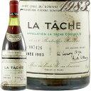 1983 ラ ターシュ グラン クリュ ドメーヌ ド ラ ロマネ コンティ DRC 赤ワイン 辛口 ビオディナミ 750ml Domaine de la Romanee La Tache