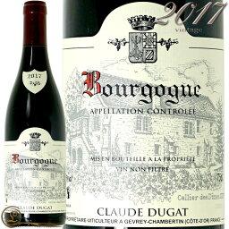 2017 ブルゴーニュ ルージュ クロード デュガ 正規品 赤ワイン 辛口 750ml Claude Dugat Bourgogne Rouge