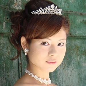 ヘッドドレス(髪飾り)【ティアラ】シンフォニー