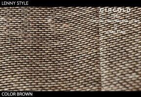 チルコロ1901(CIRCORO1901)コットン+リネンテーラードジャケット-ブラウン