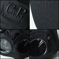 CPカンパニー(シーピーカンパニー)(C.P.COMPANY)ゴーグルキャップ(帽子)ブラック
