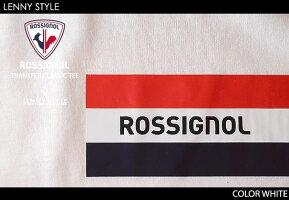 ロシニョールアパレル(ROSSIGNOLAPPAREL)MEN-メンズ-クルーネックプリントTシャツ(カットソー)(TRANSFERCLASSICTEE)-ホワイト