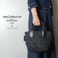 VeeCollective(ヴィーコレクティブ)トートバッグ・ミニサイズ-ブラック(MINIveetote)
